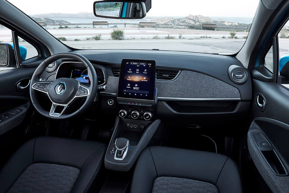 A high-tech and premium interior
