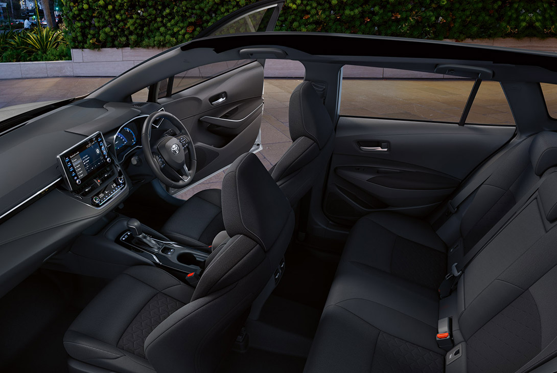 Corolla Practicality & Comfort